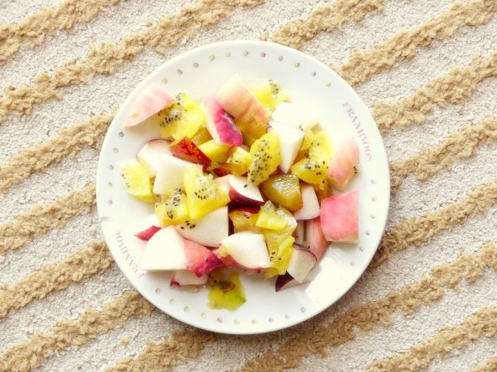 healthy fruitsalade donderdag