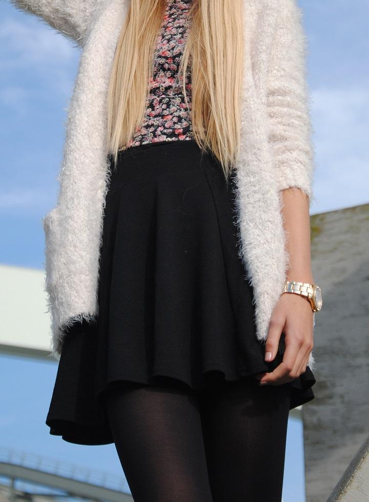 outfit skater skirt