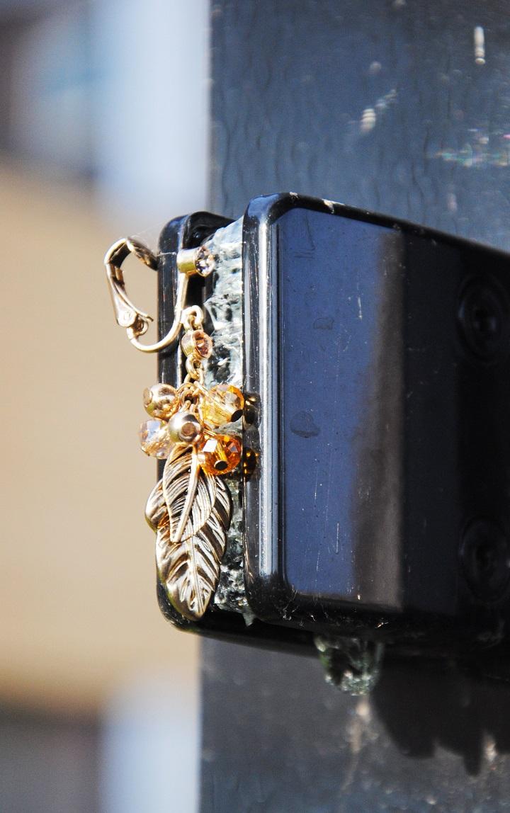 gouden clipoorbellen