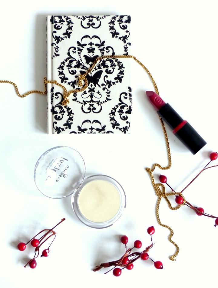 review essence cream to powder highlighter