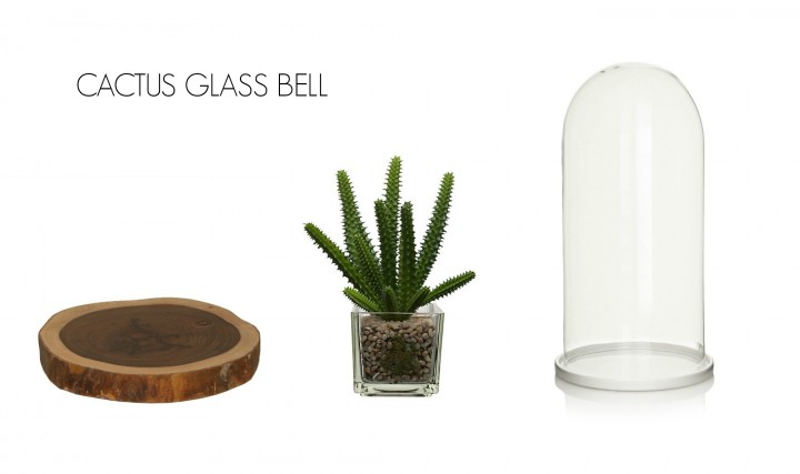 CACTUS GLASS BELL