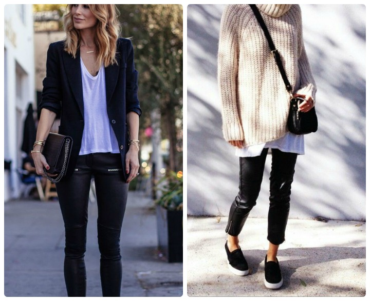 leather pants inspiration