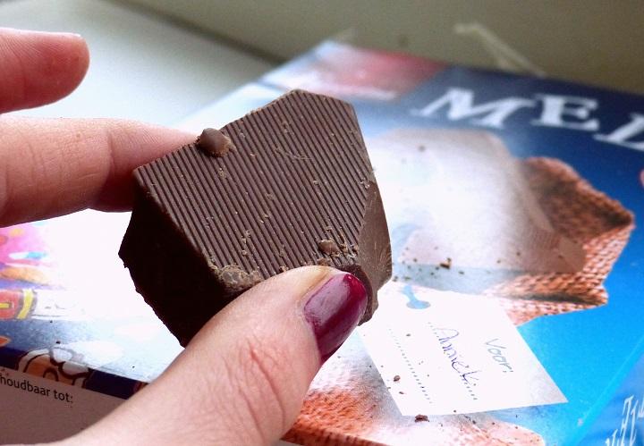 stukje chocoladeletter