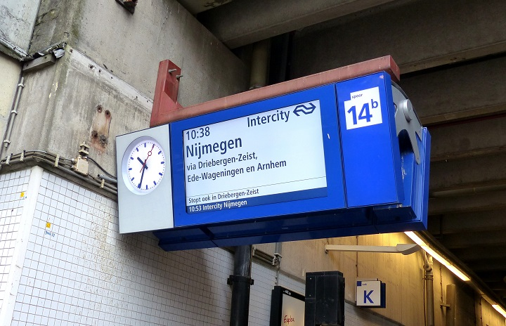 trein nijmegen