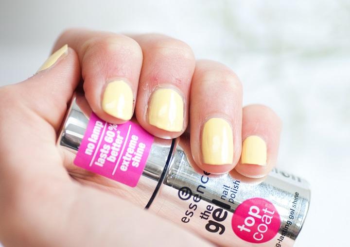gel nails essence