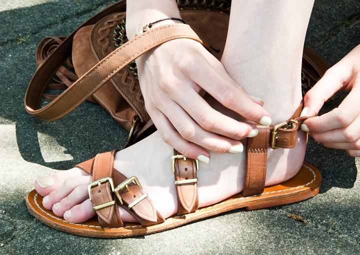 gladiator sandaaltjes