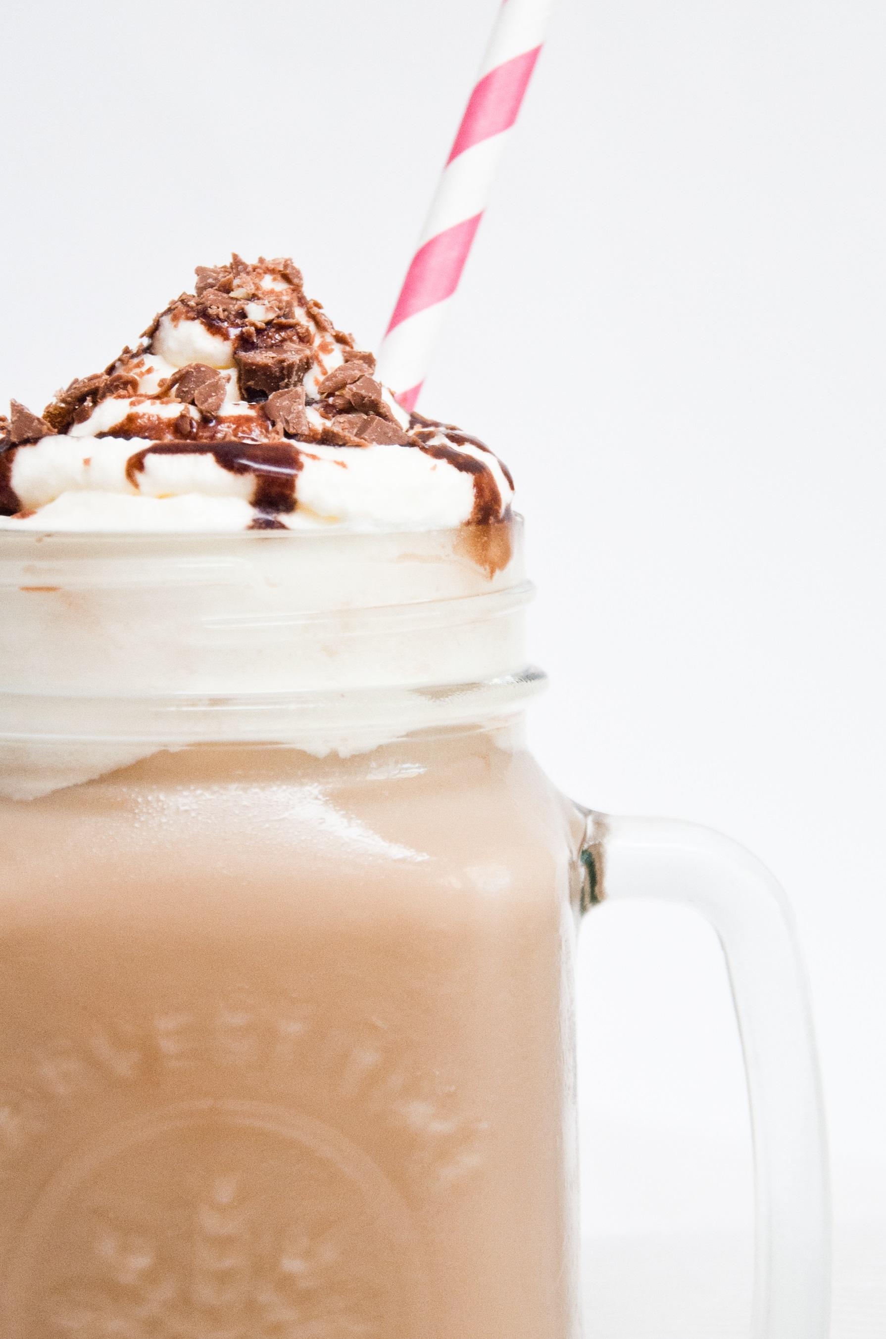 recept ijskoffie chocolade