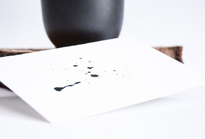 ink drips