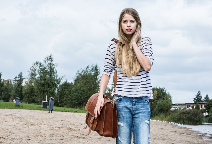 outfit streepjes top