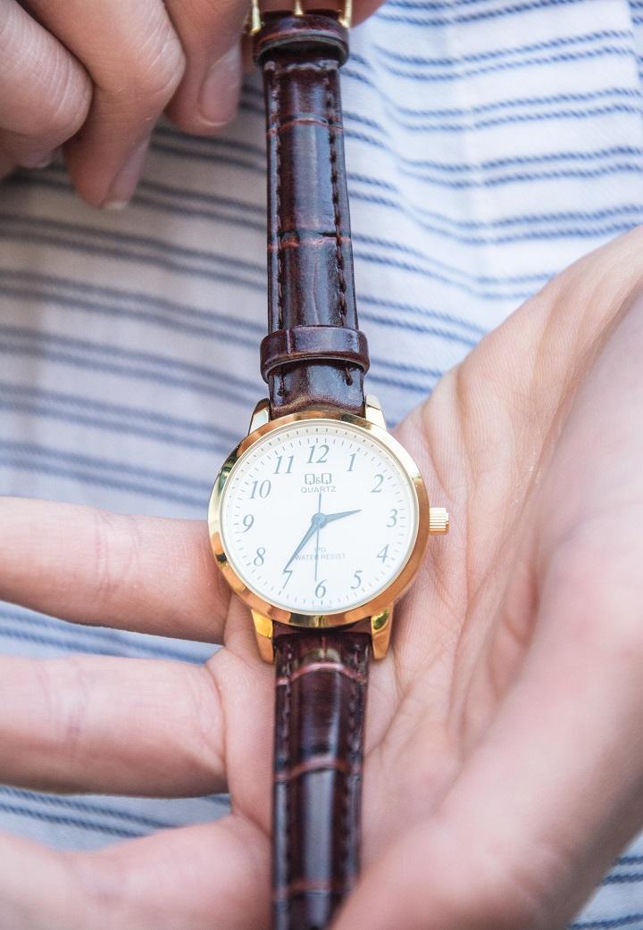 old school horloge