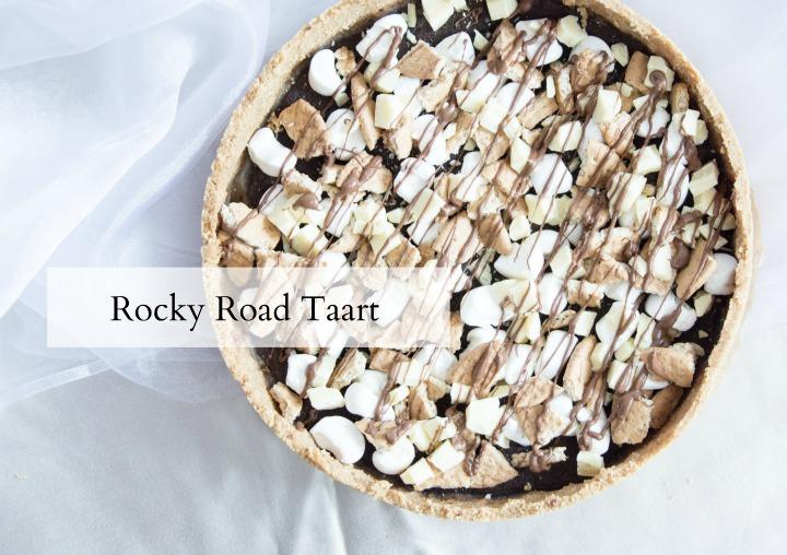 recept rocky road taart
