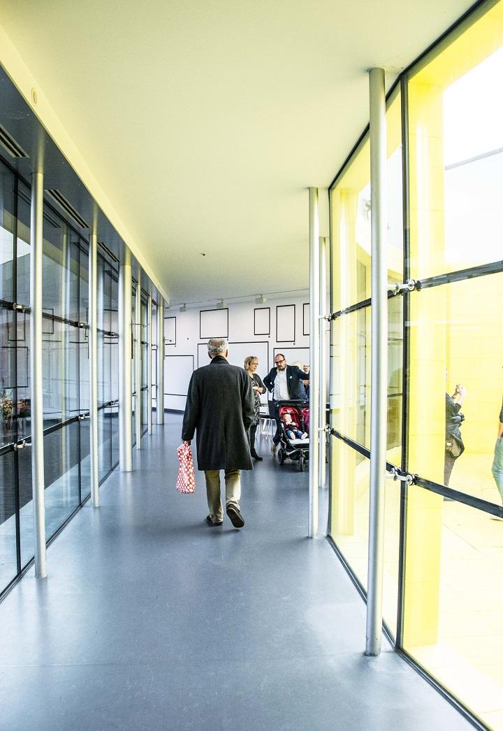 yellow interior art