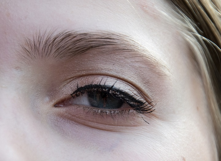 nude oogschaduw look