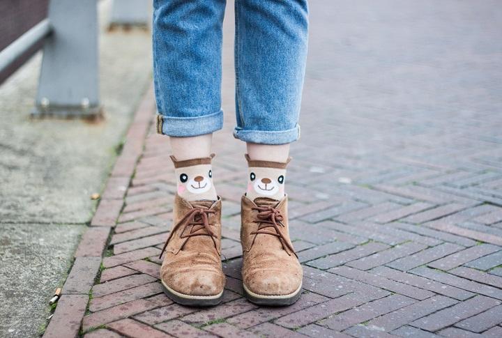 outfit gekke sokken