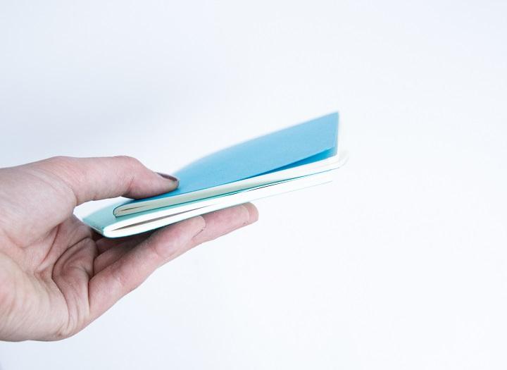 gekleurde notitieboekjes