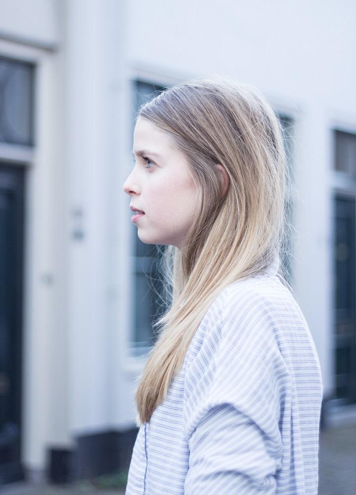 kapsels steil lang haar