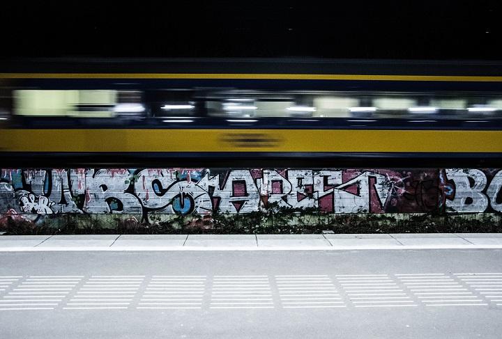 trein avond
