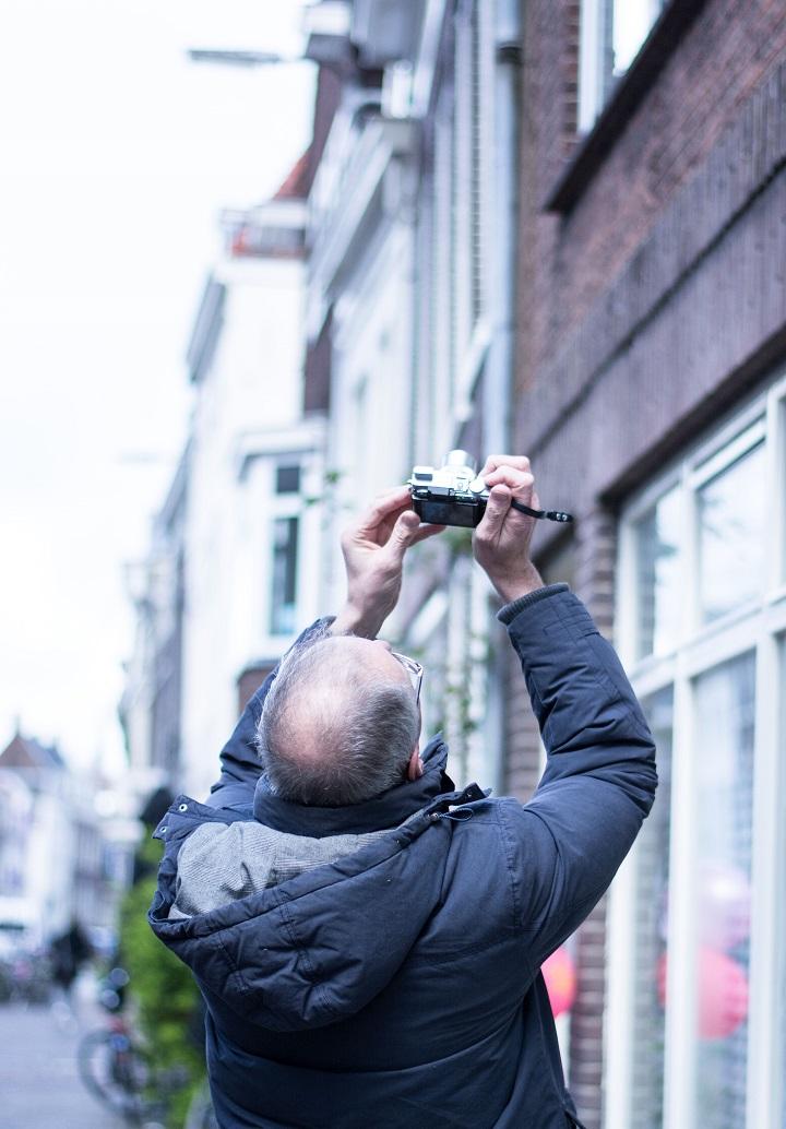 papa fotograferen