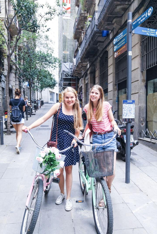 fietsen met maxime