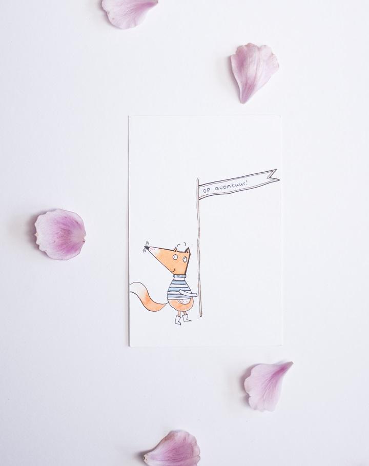 illustration fox