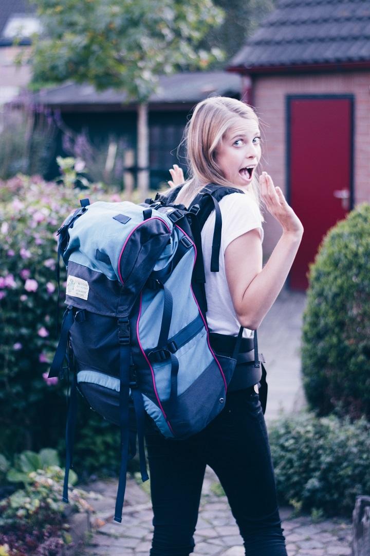 ontgroening anniek backpack