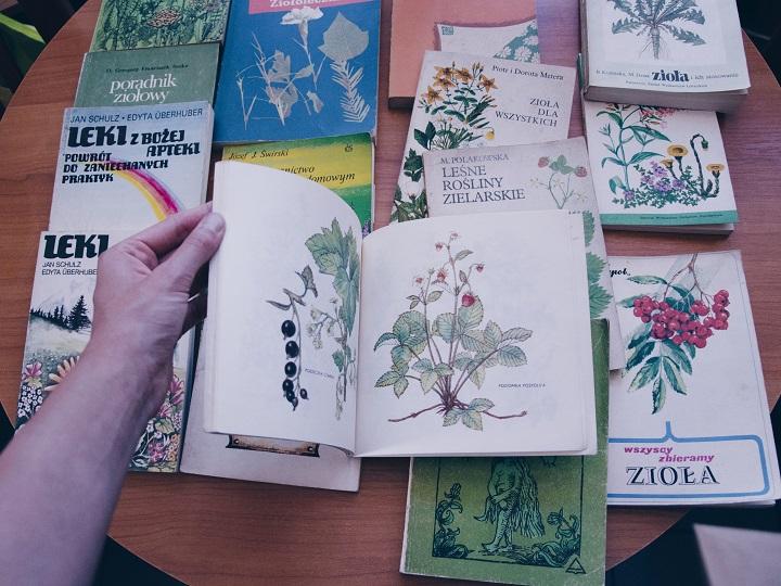 vintage bloemenboekje